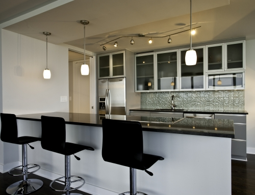 Finishing Touches to a Contemporary Kitchen